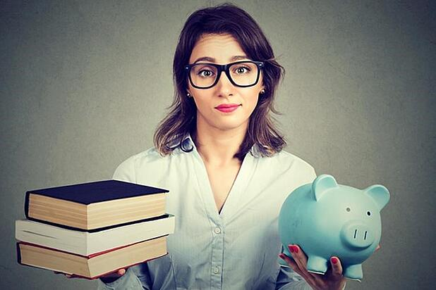 Saving money for (and at) college