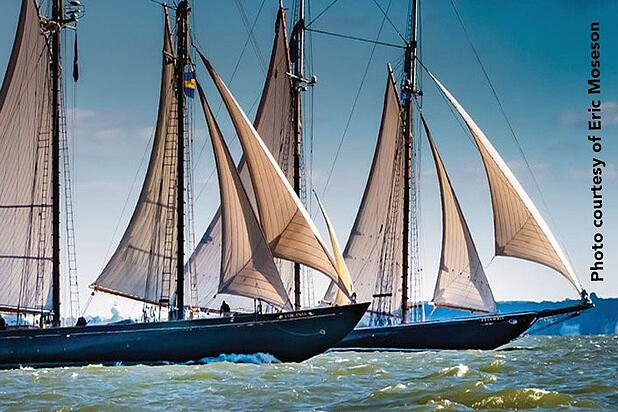 The Great Chesapeake Bay Schooner Race: 30 years of racing to Save The Bay