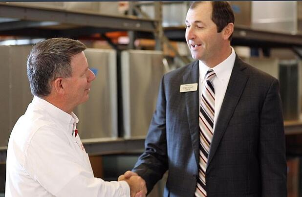 Meet Steve: Business can be personal, even in commercial
