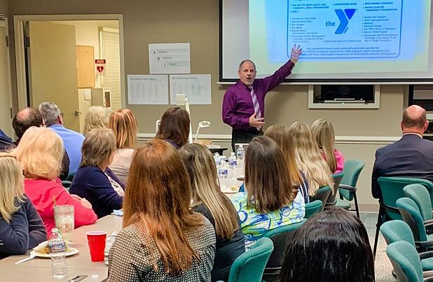 Chesapeake Bank staff gave over 6,000 volunteer hours in 2018