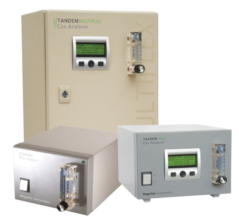 The H.E.L Range of Tandem Gas Analyzers