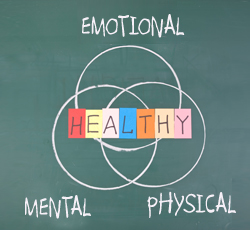 How healthy are you - physical, mental, emotional