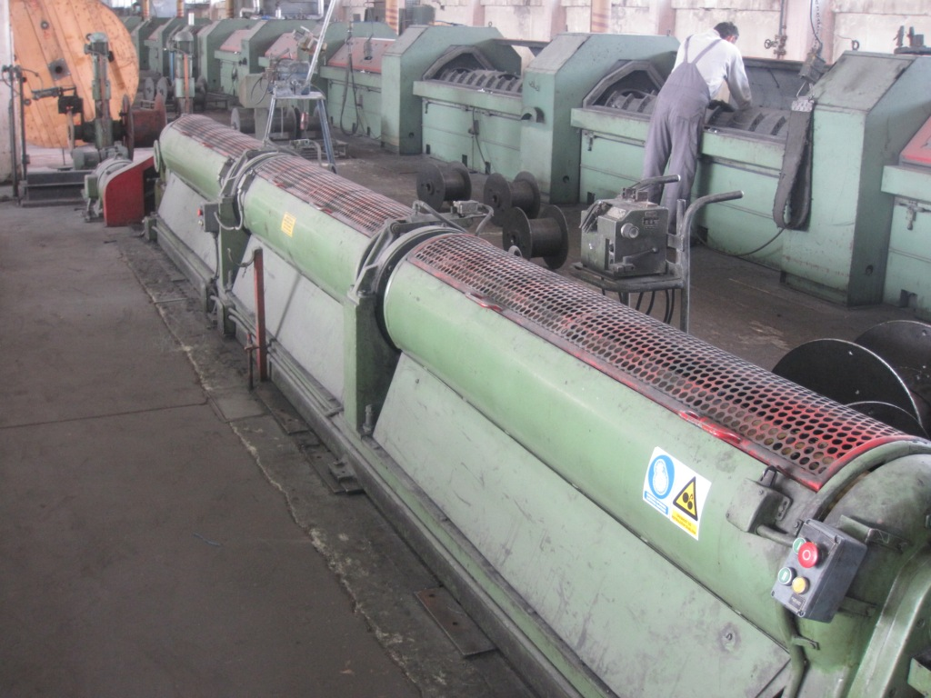 Cortinovis 200mm Tubular Strander for Steel Wire
