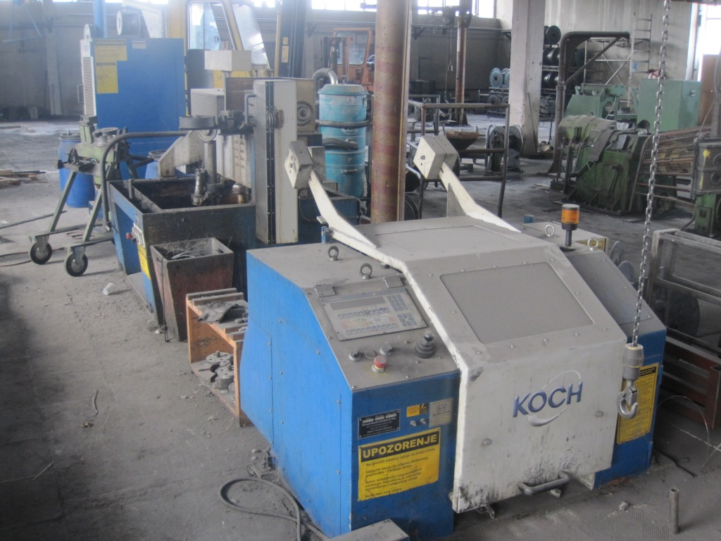 KOCH Steel Rod Drawing Machine