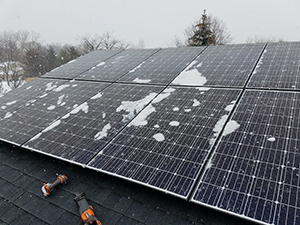Do Solar Panels Work in the Snow? YES!
