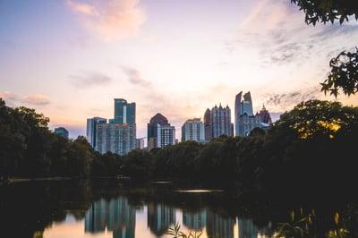 View of Atlanta, GA