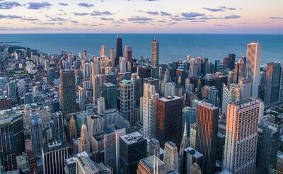 View of Chicago, IL