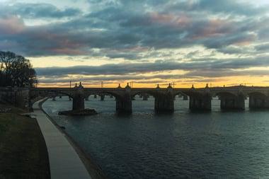 View of Harrisburg, Pennsylvania