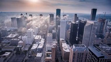 City view of Houston, Texas
