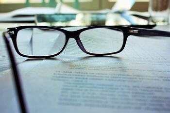 glasses on a institutional investor documentation