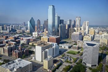 city view of downtown Dallas
