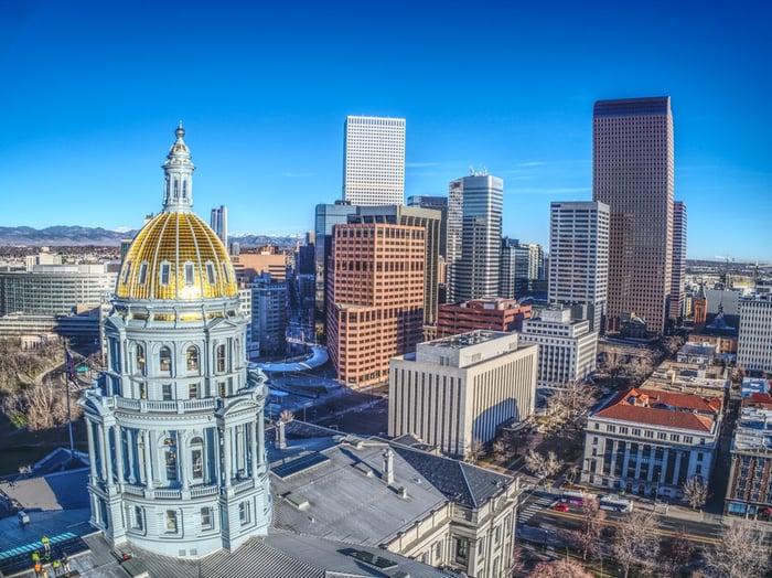 Denver, Colorado capitol building