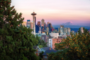 View of downtown Seattle, WA