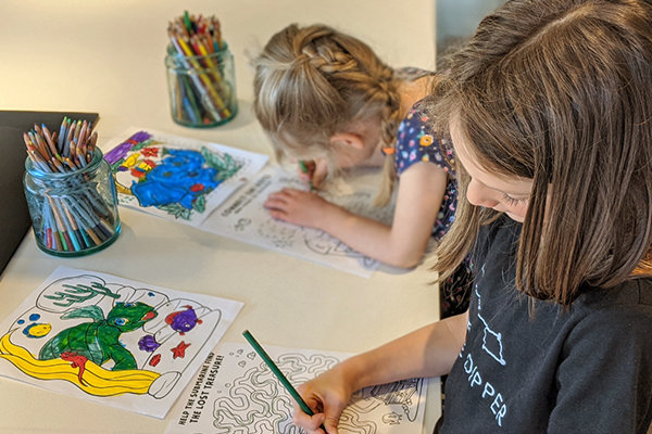 themed coloring pages for kids