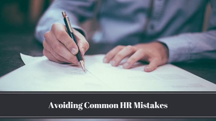 HR Analysis: Avoiding Common HR Mistakes