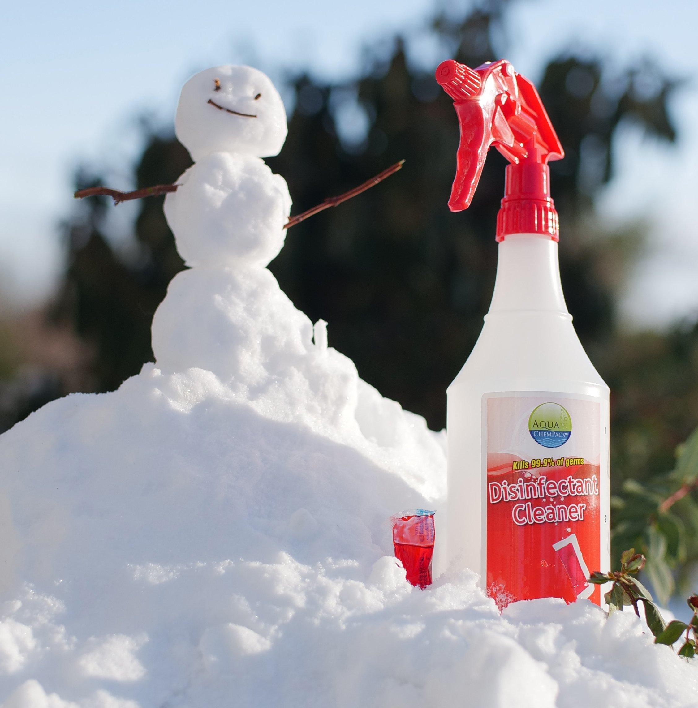 Disinfectant-Snowman