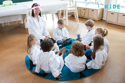 Kide Science and Helsinki Announce Partnership for Daycare Centers