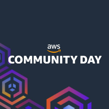 AWS Community Days, September 2018