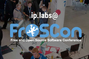 Meet ip.labs at FrOSCon on August 20th and 21st!