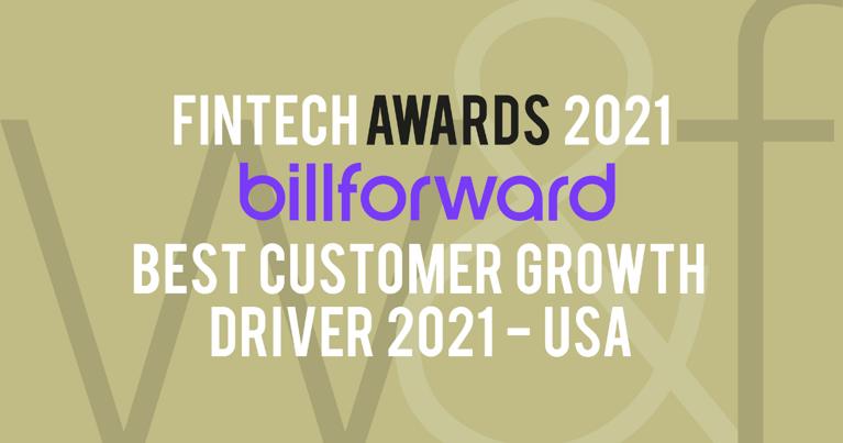 Best Customer Growth Driver USA - Fintech Awards 2021