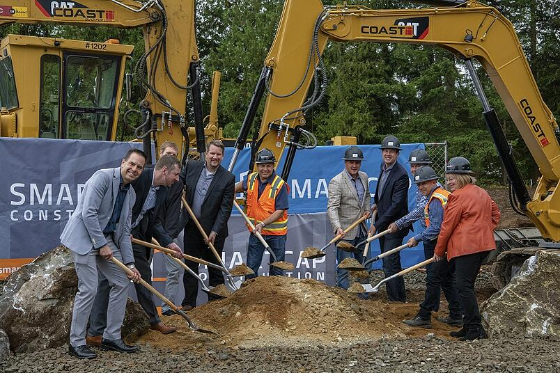 SMARTCAP breaks ground on second Arlington, WA industrial project