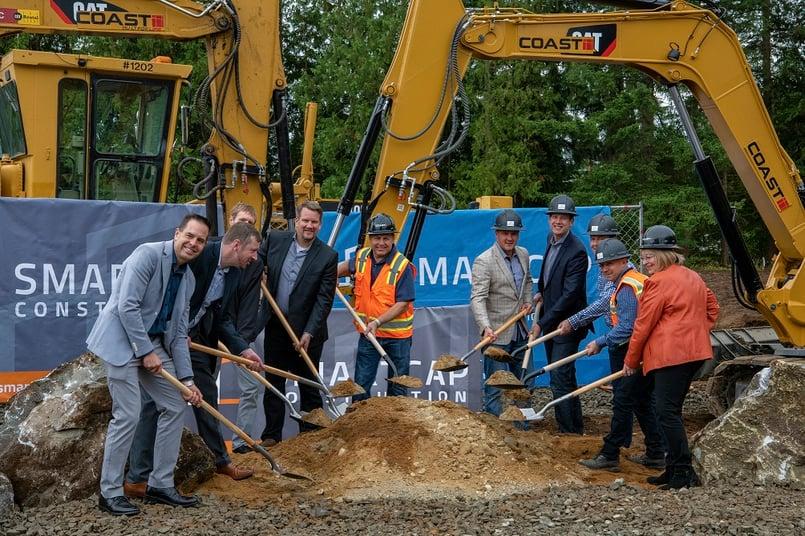 SMARTCAP breaks ground on second Arlington, WA industrial project