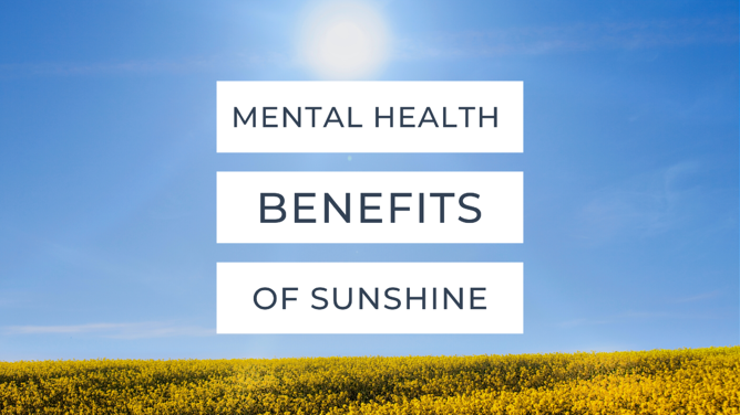 Mental Health Benefits Of Sunshine