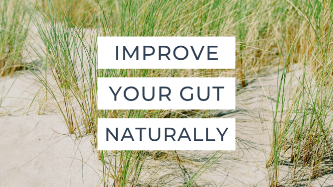 Improve Your Gut Naturally