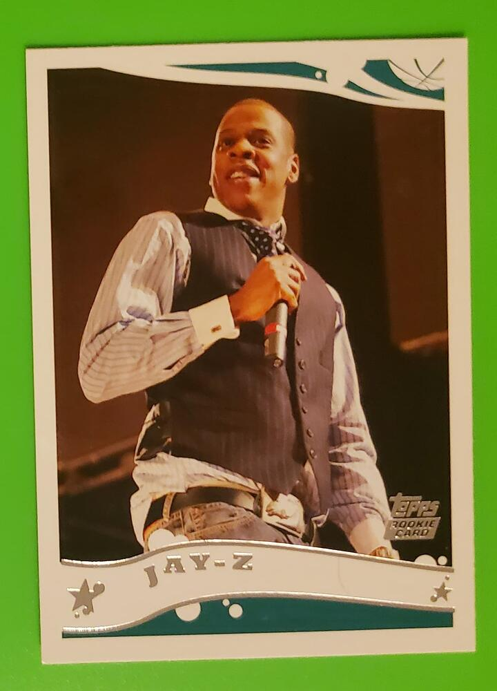 2005 Topps Jay-Z Rookie Cards Rising in Value