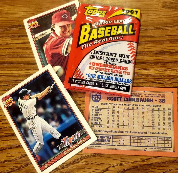 Walk Down Memory Lane as 1991 Topps Baseball Turns 30
