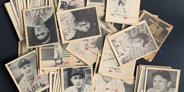 Mysteriously-Stamped 1939 Play Ball Baseball Card Collection