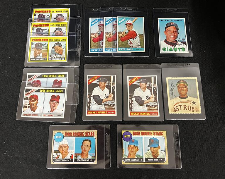 Mystery Box With Mickey Mantle Cards inThe Unsolicited Collection