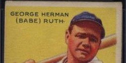 Dr. Thomas Newman Collection Includes Babe Ruth that May Break All-Time Sales Record for a Card