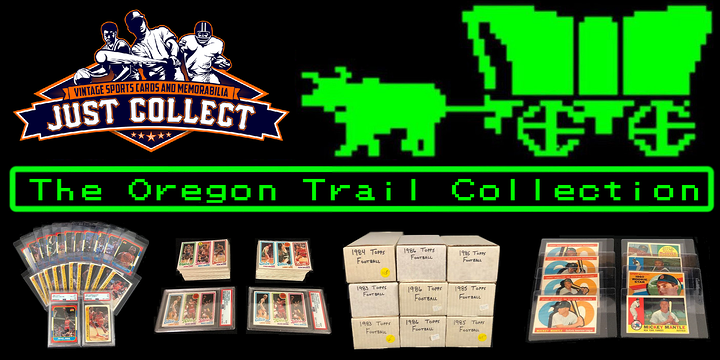 The Oregon Trail Collection has Michael Jordan Rookie and Vintage Sets