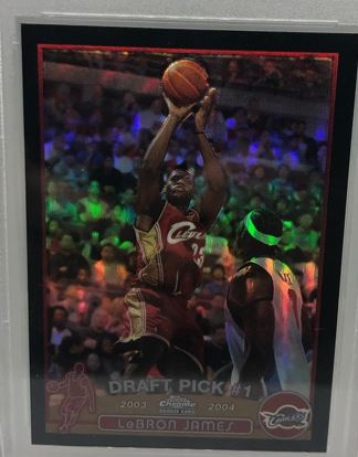 LeBron James Rookie Sets All-Time Sales Price Record of 5.2 Million Dollars