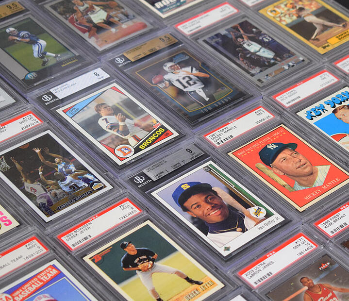 A Star-Studded Collection of Graded Cards Comes to Just Collect