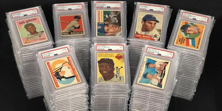 Rookies of All-Time Greats Highlight PSA Vintage Baseball Cards Purchase
