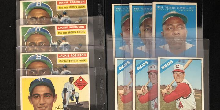 Mickey Mantle, Jackie Robinson, and More Saved From Bicycle Spokes in The Noise Maker Collection