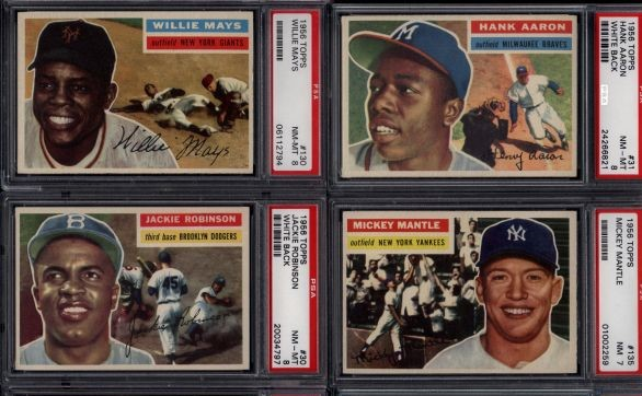 Fully PSA-Graded 1956 Topps Baseball Complete Set Purchase
