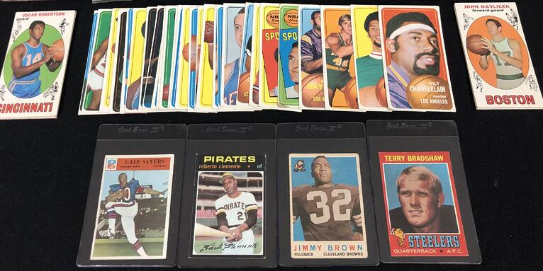 West Virginia Collector Sells Just Collect 800 Vintage Sports Cards