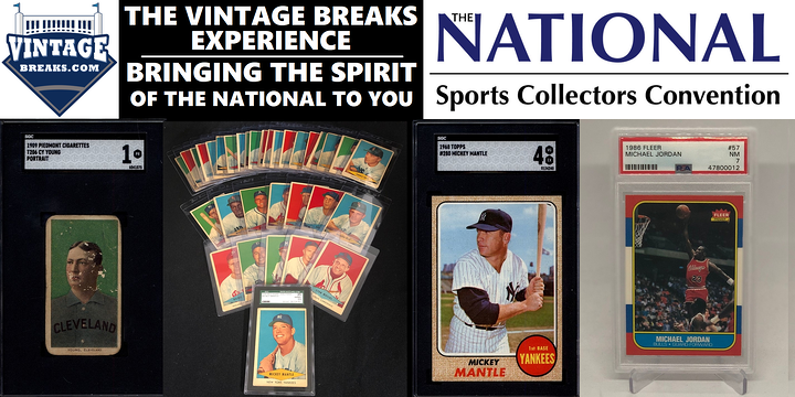 2021 NATIONAL SPORTS COLLECTORS CONVENTION BONUSES