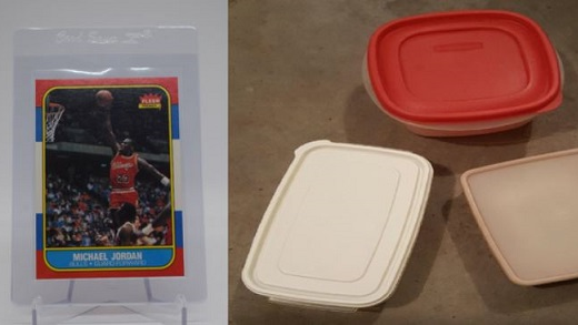 The 1986 Fleer Basketball Tupperware Collection