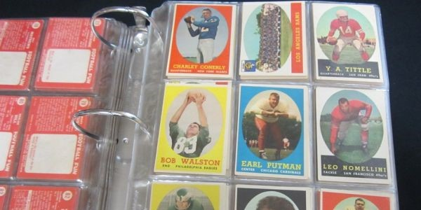 The Vintage Baseball and Football Corning Card Collection