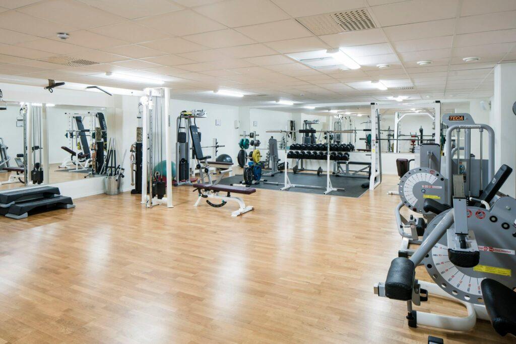 Sanna office hub gym