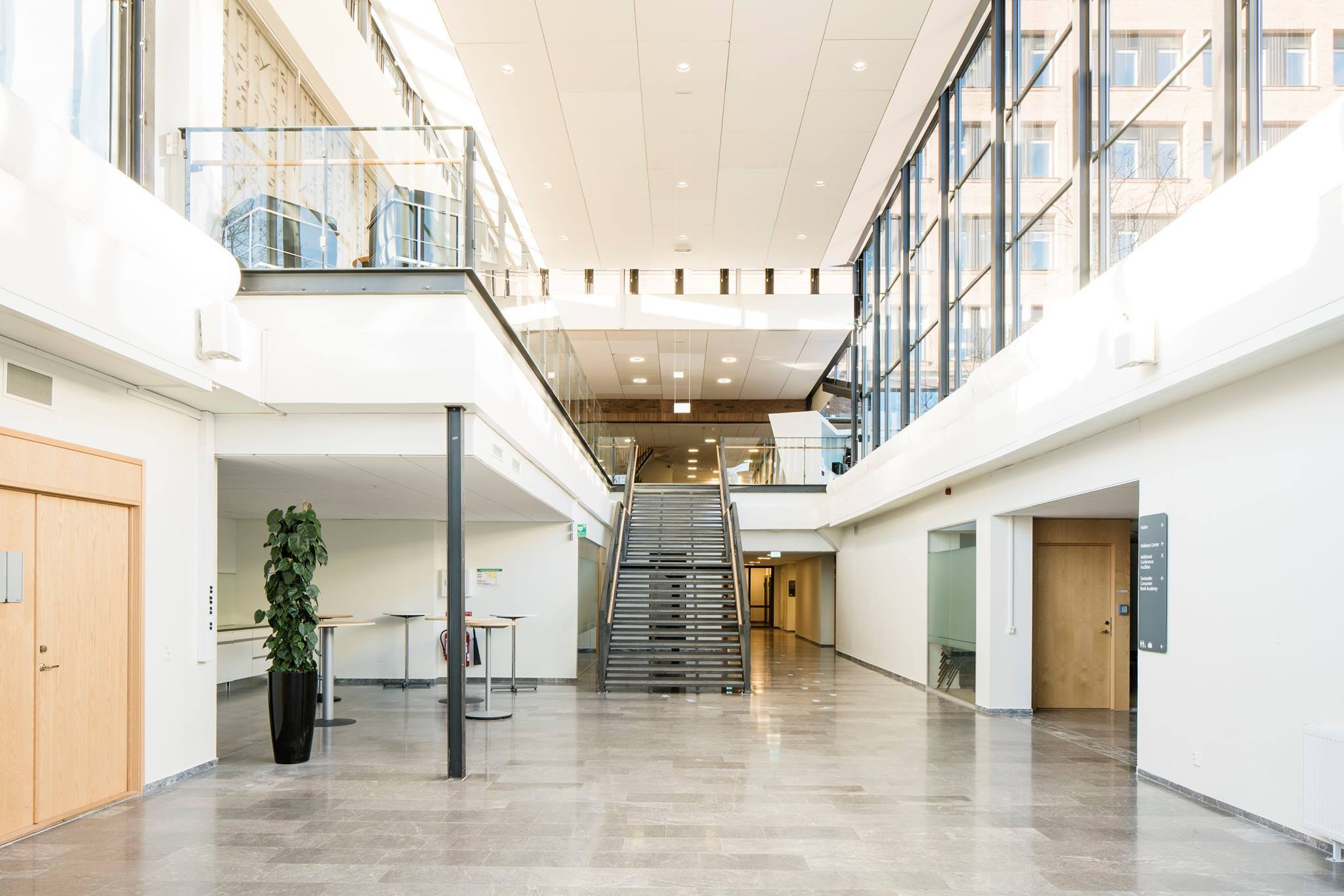 Sanna office hub stairs