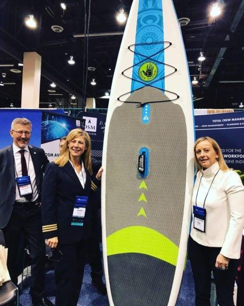 Surfboard-winner-women-in-aviation-conference