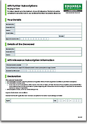 APS Paying In Form