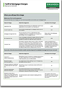 Societys Mortgage Fees and Charges