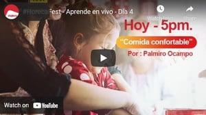 #HorecaFest  - Aprende en vivo - Día 4