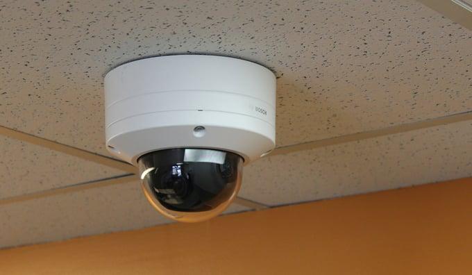 Navjoytrains Bosch camera to detectmasks